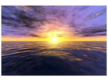 Krásný obraz slunce nad mořem (F001723F9060)