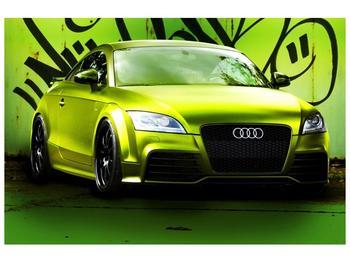 Obraz zelené Audi  (F003676F9060)
