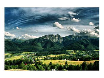 Obraz horské krajiny (K010215K9060)