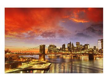Tablou cu podul Brooklyn (K011278K9060)