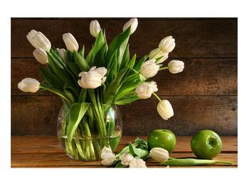 Obraz tulipánů ve váze (K011364K9060)