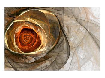 Tablou modern cu trandafir (K011863K9060)