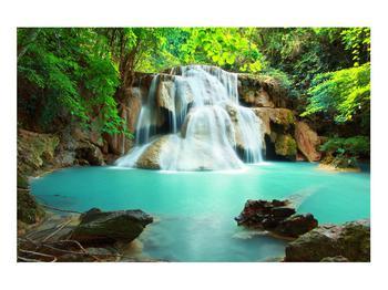 Obraz řeky s vodopády (K011969K9060)