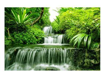 Obraz indonéských vodopádů (K012353K9060)
