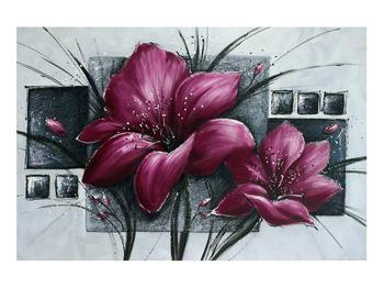 Tablou modern cu flori (K012355K9060)