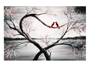 Zamilovaný obraz ptáků (K012527K9060)