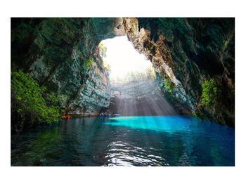 Obraz jeskyně s vodní plochou (K012667K9060)