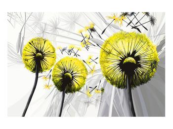 Tablou galben cu păpădii (K014028K9060)