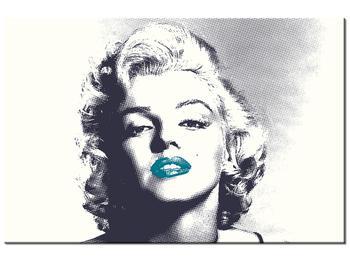Obraz Marilyn Monroe s modrými rty (K014373K9060)