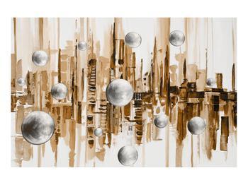 Abstraktní obraz - město (K014743K9060)