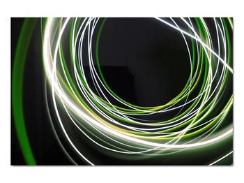 Obraz zelených čiar (V020054V9060)
