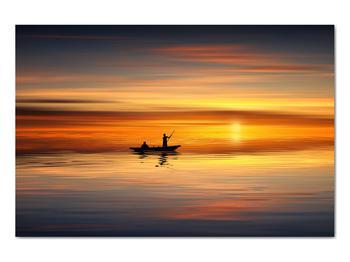 Obraz - plavba na loďke (V020168V9060)