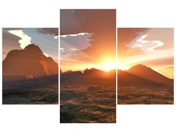 Obraz západu slunce (F000462F90603PCS)