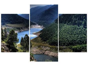 Obraz řeky a hor (F000615F90603PCS)