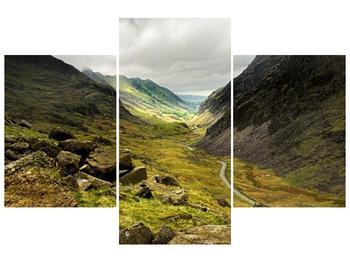 Obraz cesty uprostřed hor (F000621F90603PCS)