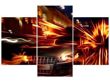 Obraz jedoucího auta (F000797F90603PCS)