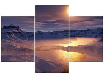 Krásný obraz zimní krajiny (F000939F90603PCS)