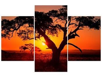 Obraz ohnivého západu slunce (F001288F90603PCS)