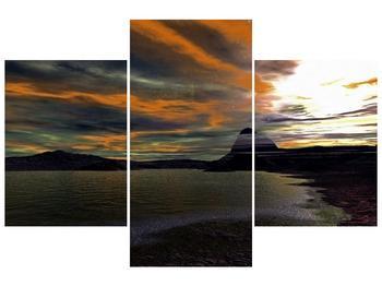 Obraz moře v temné obloze (F001564F90603PCS)