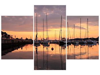 Obraz přístavu (F001605F90603PCS)