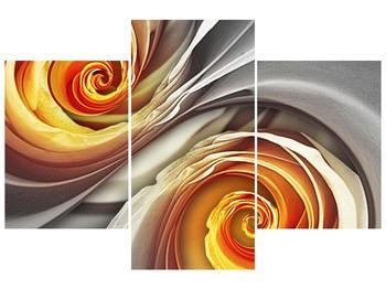 Abstraktní obraz - spirál (F001693F90603PCS)