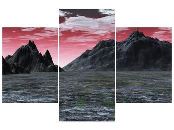 Obraz skalnaté přírody (F001712F90603PCS)
