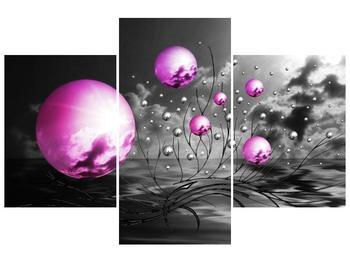 Moderní obraz - slunce v kouli (F002085F90603PCS)