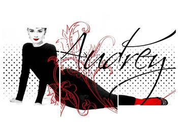 Obraz - Audrey Hepburn (F002154F90603PCS)