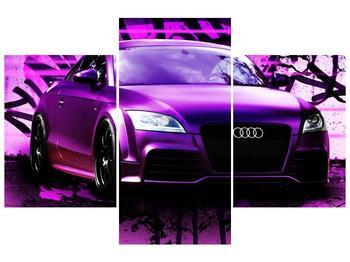 Obraz fialové Audi (F002349F90603PCS)