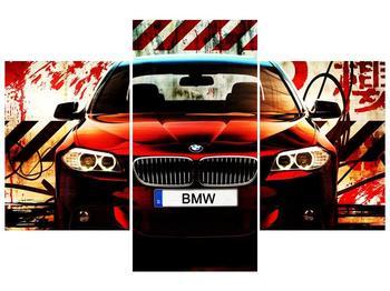 Obraz oranžového BMW (F002354F90603PCS)
