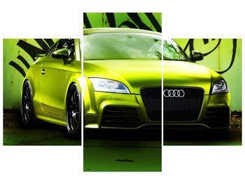 Obraz zelené Audi  (F003676F90603PCS)