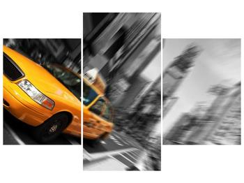 Rozmazaný obraz New Yorku (F004013F90603PCS)