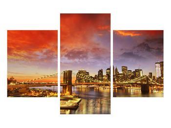 Tablou cu podul Brooklyn (K011278K90603PCS)