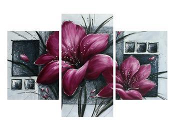 Tablou modern cu flori (K012355K90603PCS)
