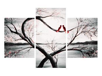 Zamilovaný obraz ptáků (K012527K90603PCS)