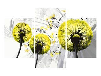 Tablou galben cu păpădii (K014028K90603PCS)