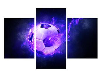 Tablou cu mingea de footbal în plasă (K014164K90603PCS)