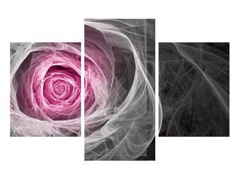 Abstraktní obraz růže (K014952K90603PCS)