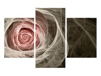 Abstraktní obraz růže (K014988K90603PCS)