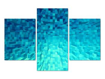 Obraz - abstraktní kostky (V020021V90603PCS)