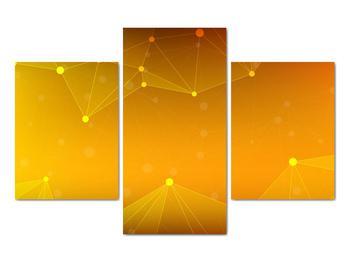 Abstraktní žlutý obraz (V020045V90603PCS)