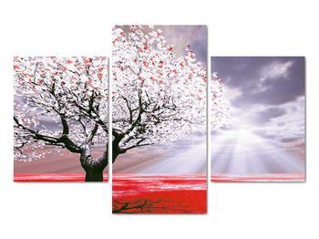 Červený obraz stromu (V020052V90603PCS)
