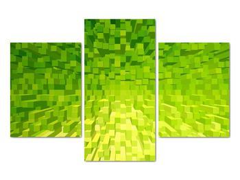 Obraz žlutozelených kostiček (V020057V90603PCS)