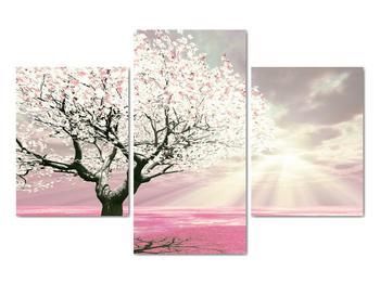 Růžový obraz stromu (V020058V90603PCS)
