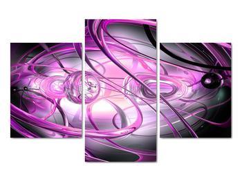 Obraz krásné fialové abstrakce (V020060V90603PCS)