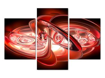 Obraz - červené tvary (V020064V90603PCS)