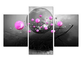 Obraz ružových gulí (V020105V90603PCS)