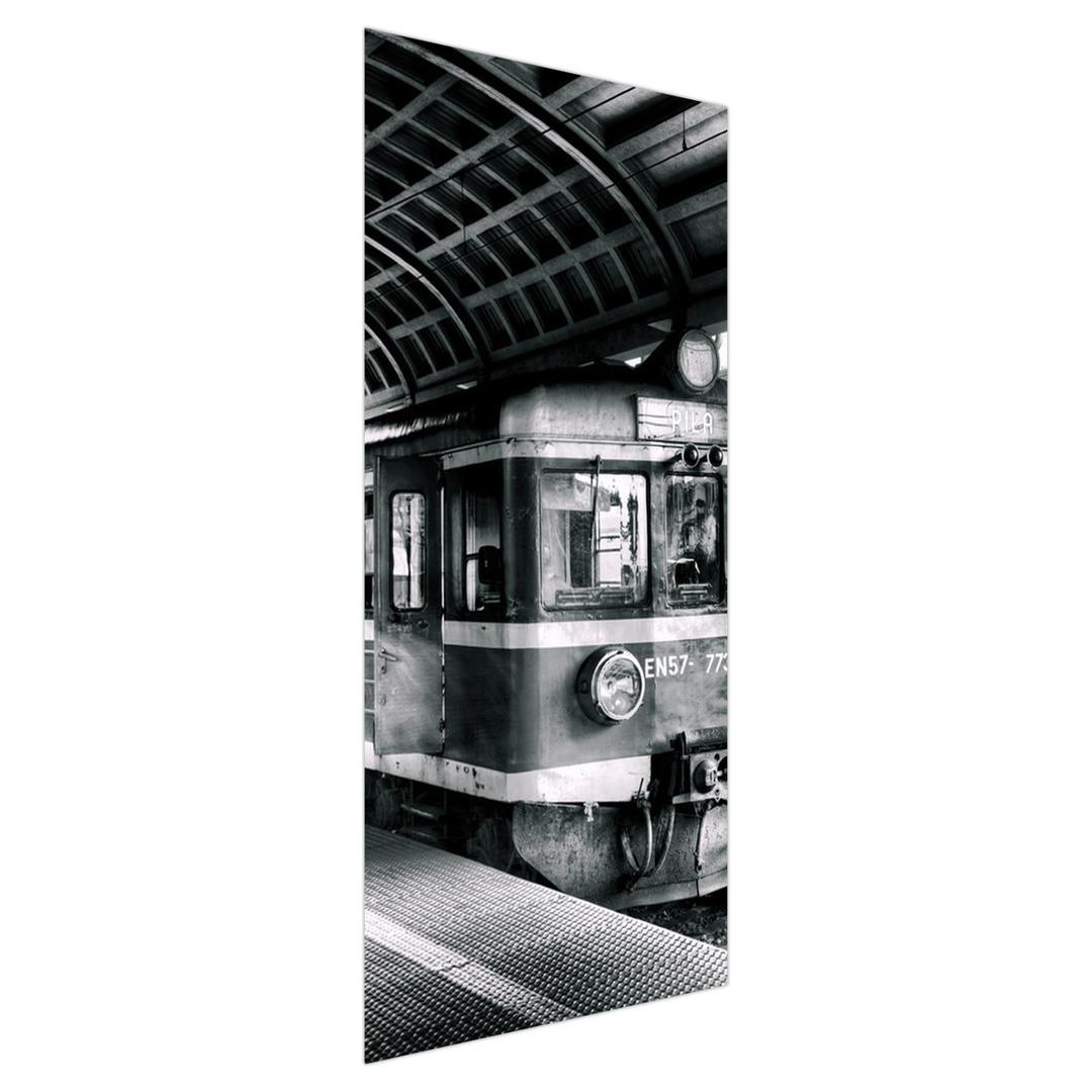 Foto tapeta za vrata - vlak (D010541D95205)