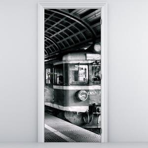 Fototapeta na dvere - vlak (D010541D95205)