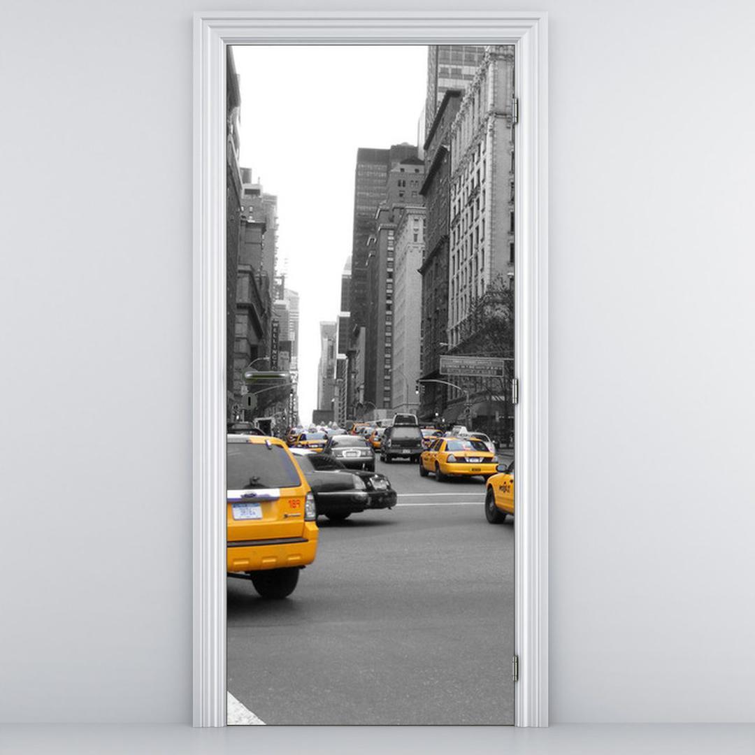 Foto tapeta za vrata - taksi (D010787D95205)